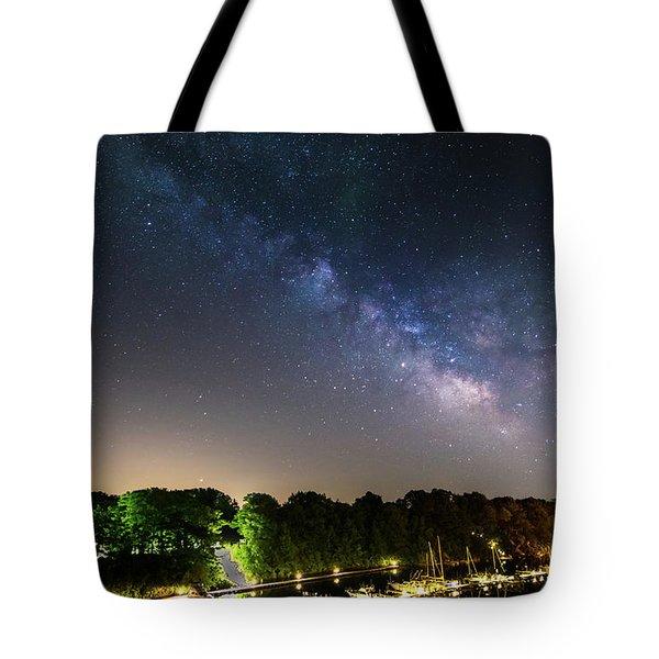 Oak Orchard Milky Way Tote Bag