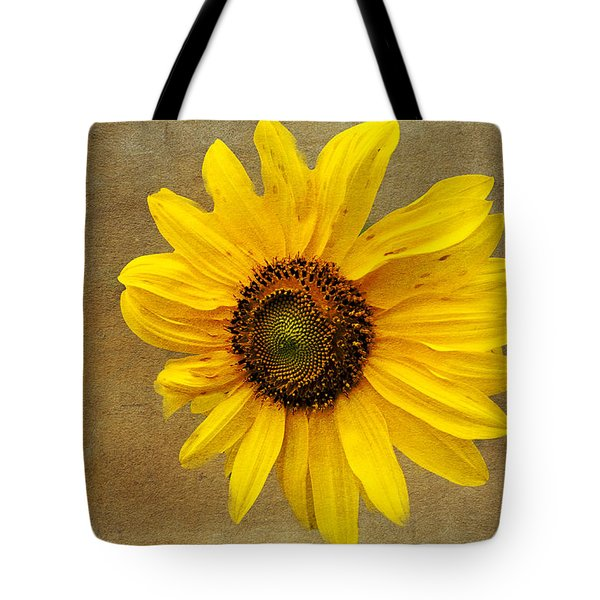 Tote Bag featuring the photograph Oak Street Sunflower by Tom Singleton