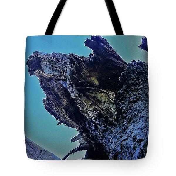 Oak Stump Tote Bag