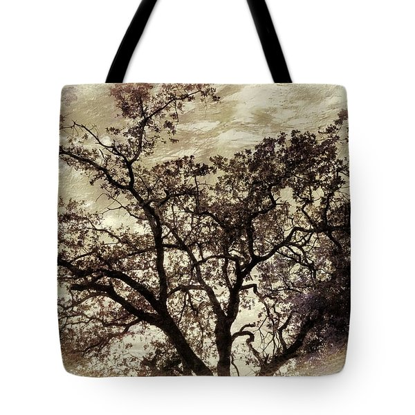 Tote Bag featuring the photograph Oak Tree by Athala Carole Bruckner