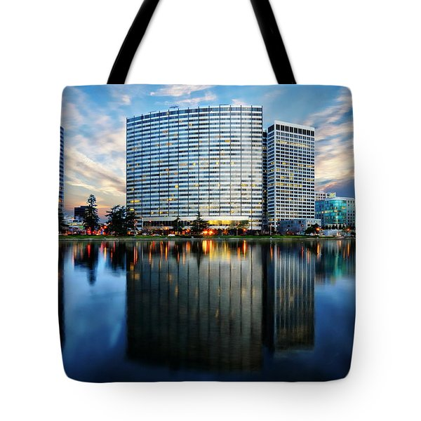 Oakland, California Cityscape Tote Bag