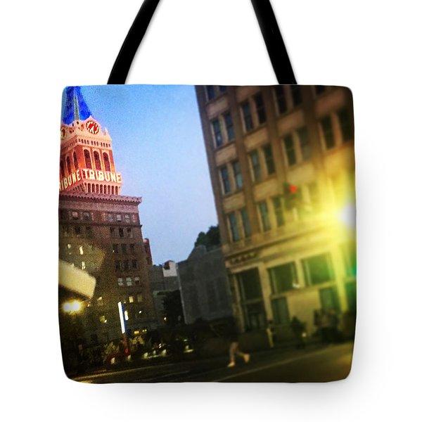 Oakland Lights Tote Bag