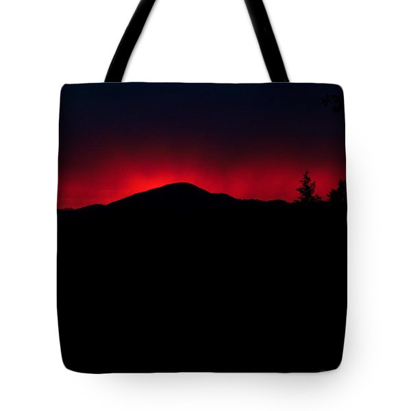 Oakrun Sunset 06 09 15 Tote Bag