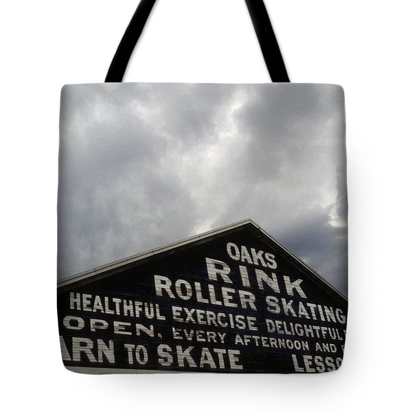 Oaks Skating Rink Tote Bag