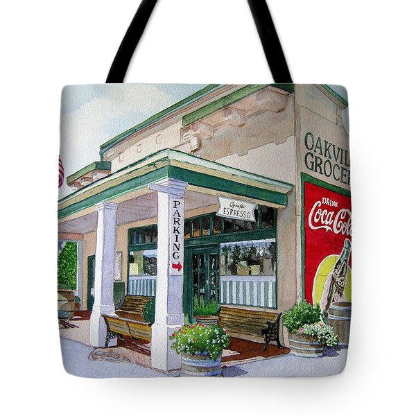 Oakville Grocery Tote Bag