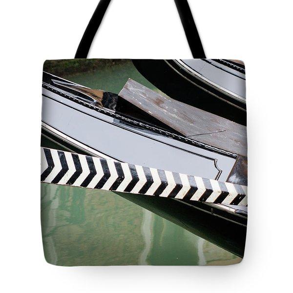 Oar Gondola Venice Tote Bag