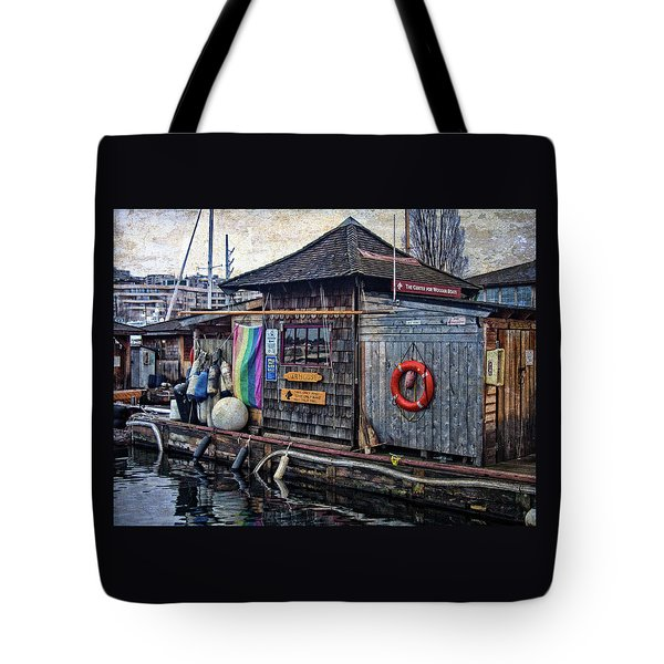 Tote Bag featuring the photograph Oarhouse by Thom Zehrfeld