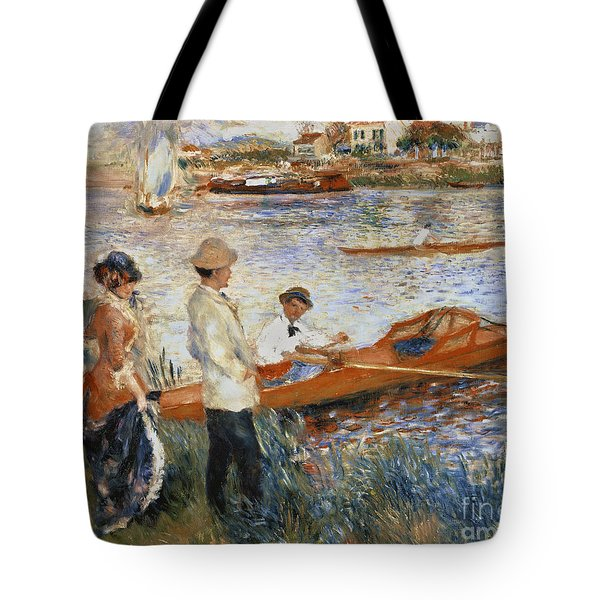 Oarsmen At Chatou Tote Bag