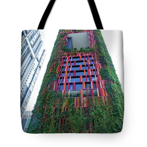 Oasia Hotel Downtown Singapore Tote Bag