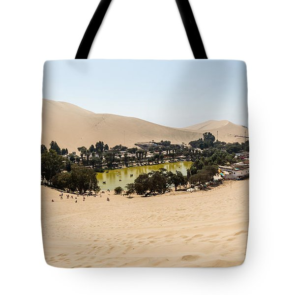 Oasis De Huacachina Tote Bag