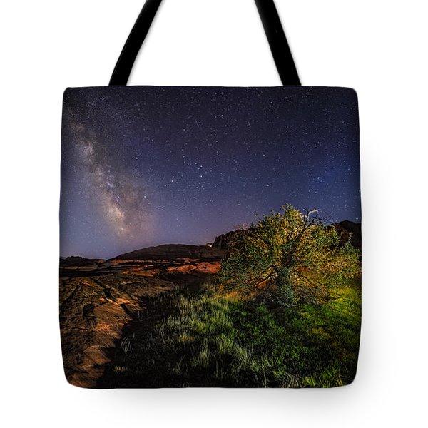Oasis Milky Way Tote Bag