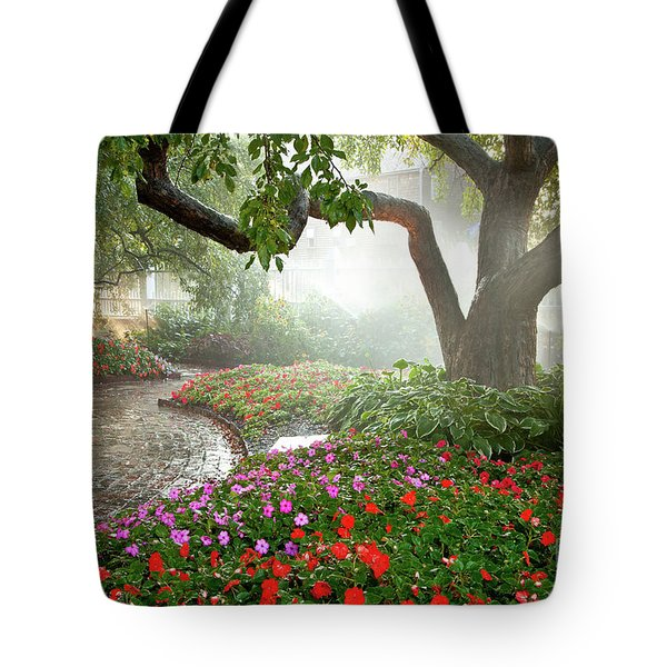 Oasis Tote Bag by Susan Cole Kelly