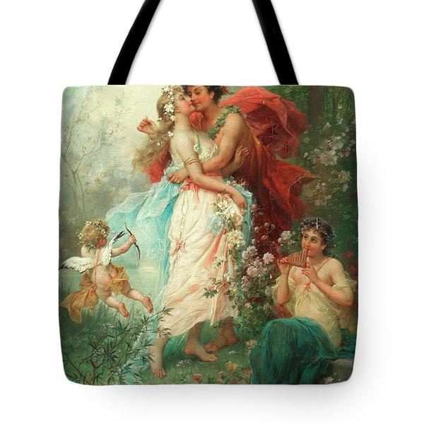 Oath Of Love Tote Bag