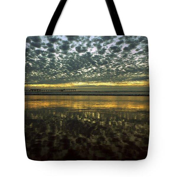 Ob Sunset No. 2 Tote Bag
