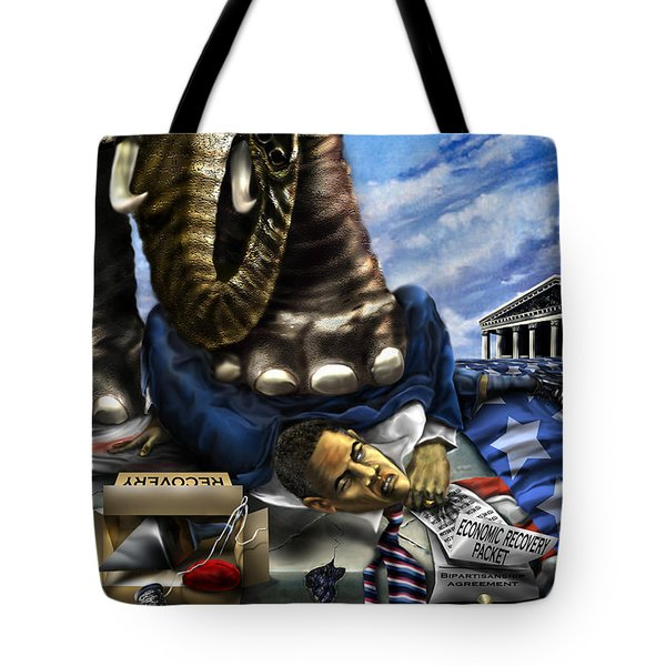 Obama Tote Bag by Reggie Duffie
