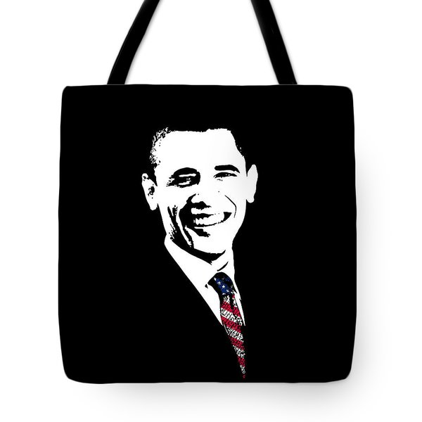 Obama Tote Bag by War Is Hell Store