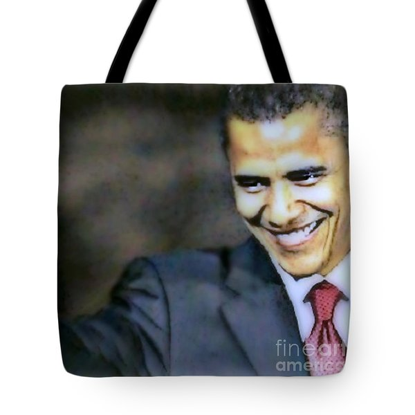 Obama Tote Bag by Wbk