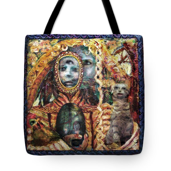 Obatala Prepares For His Journey Tote Bag