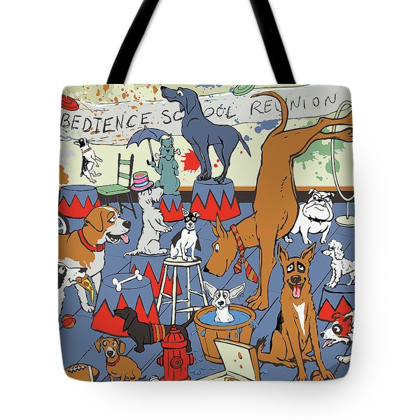 Obedience School Reunion Tote Bag