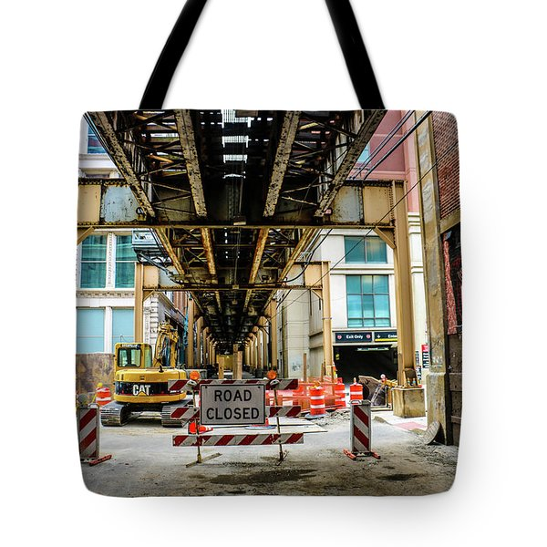 Obey The Signs Tote Bag