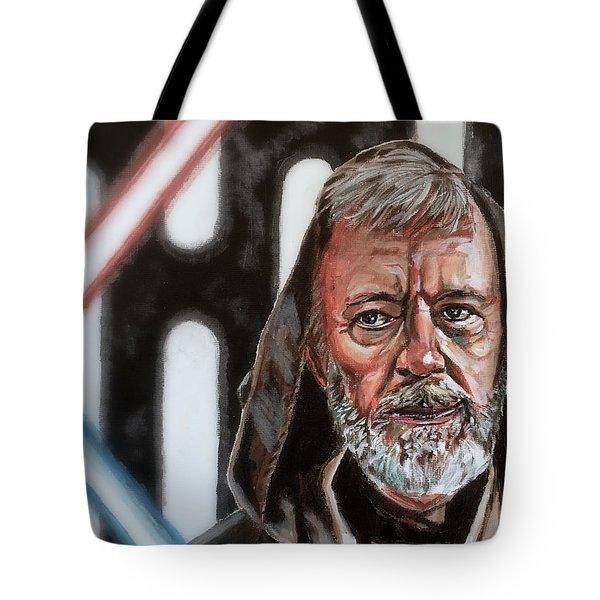 Obi-wan Kenobi's Last Stand Tote Bag