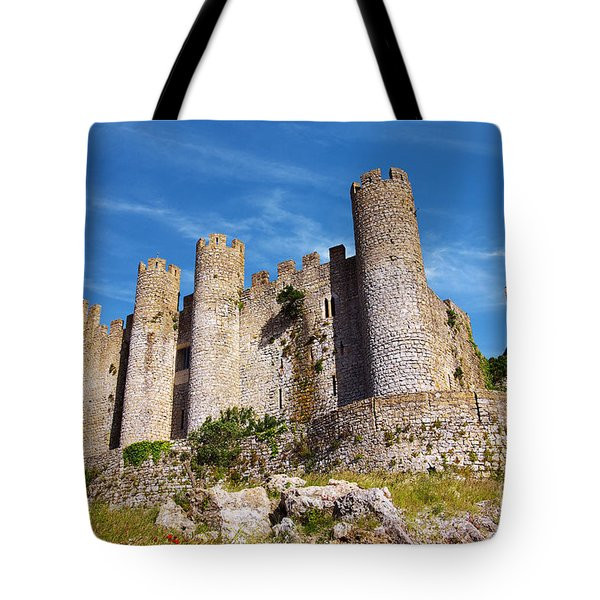Obidos Castle Tote Bag