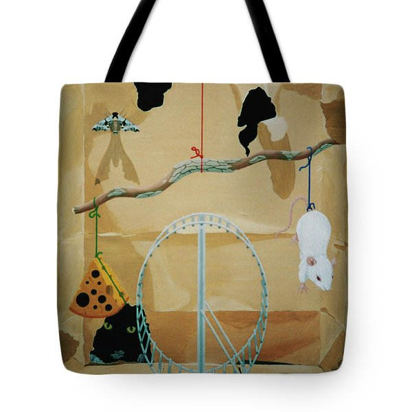 Objects Of Opposite Fit Tote Bag