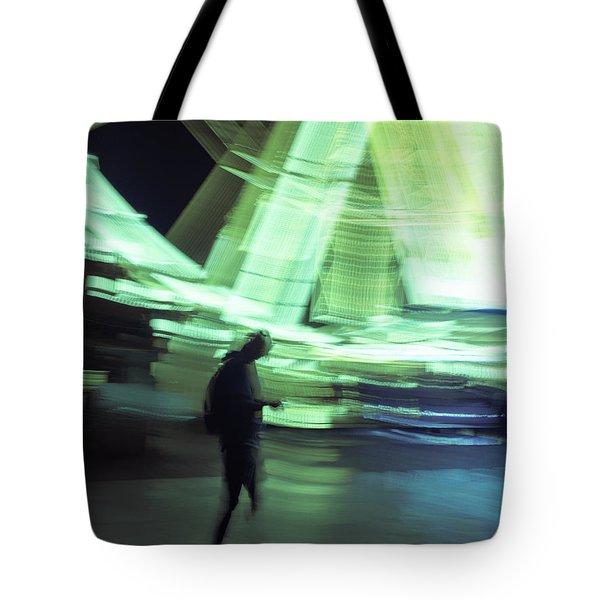 Tote Bag featuring the photograph Oblivion by Alex Lapidus