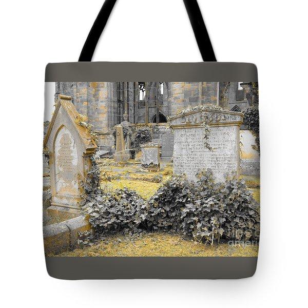 Oblivion. Ivy And Golden Lichen Tote Bag