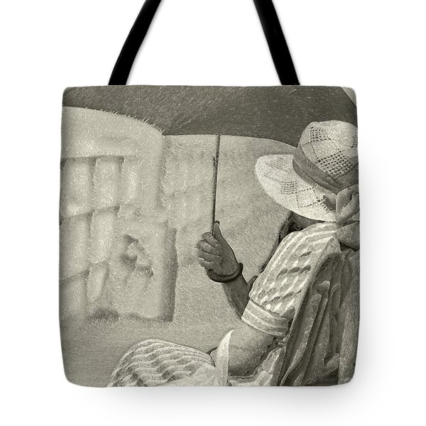 Tote Bag featuring the photograph Obscure by Jeff Breiman