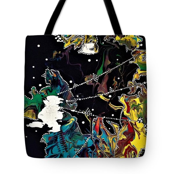 Obscurity Has A Great Many Elbows Tote Bag