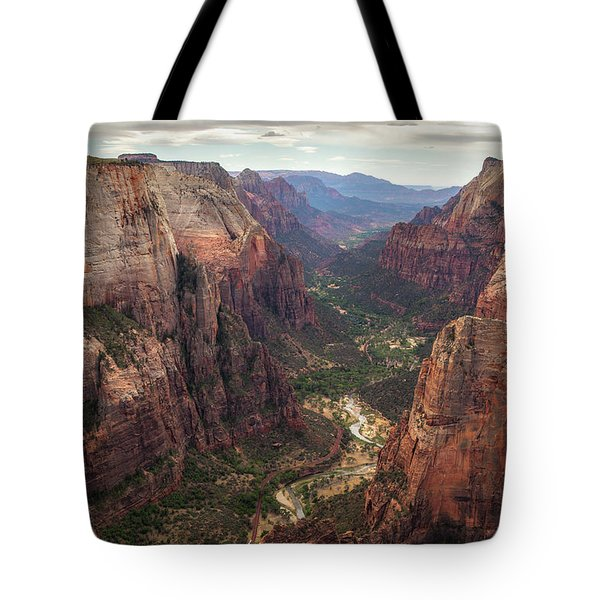 Observation Point - Zion Tote Bag