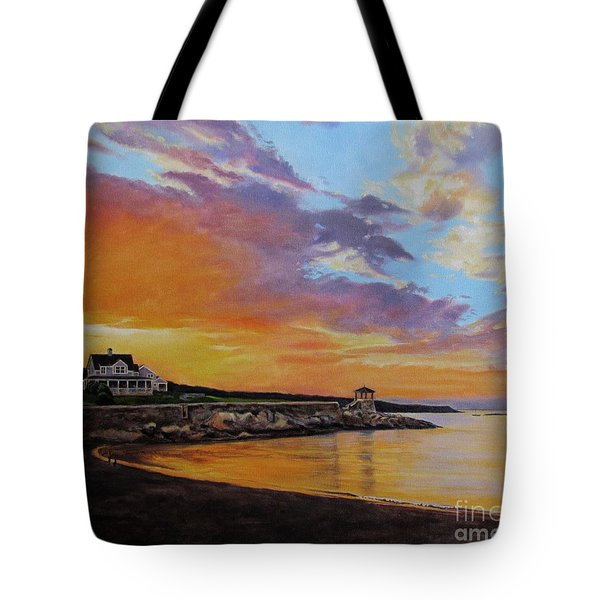 Observatory Point, Rockport, Ma Tote Bag
