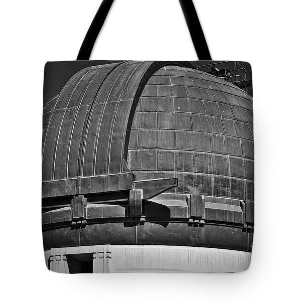Tote Bag featuring the photograph Observatory Roof by Kirt Tisdale