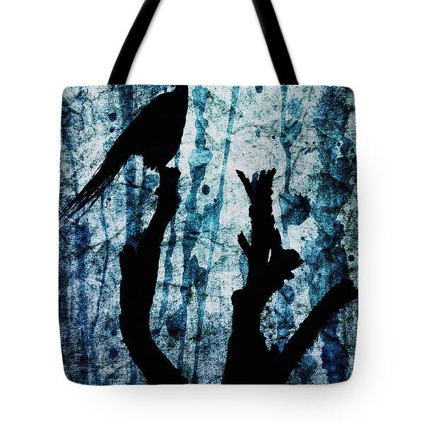 Obsidian Realm Tote Bag by Andrew Paranavitana