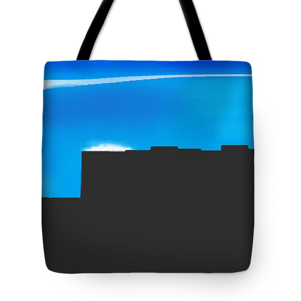 Obstructed View Tote Bag