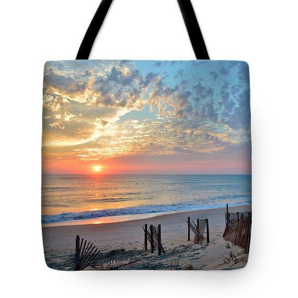 Obx Sunrise September 7 Tote Bag