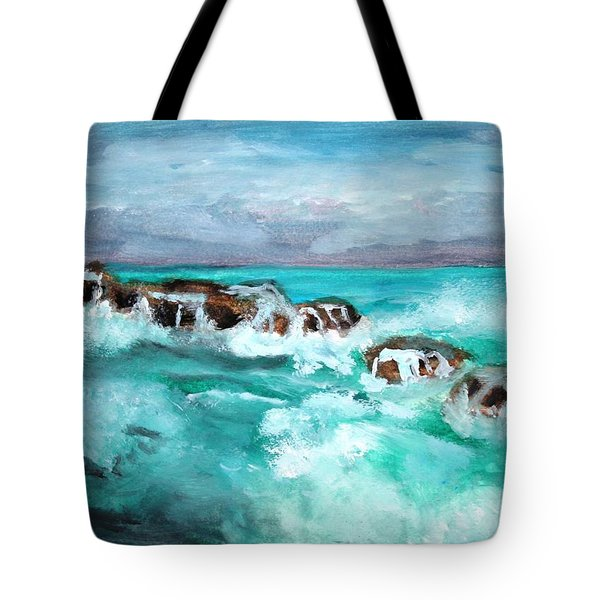 Ocean 14 Tote Bag