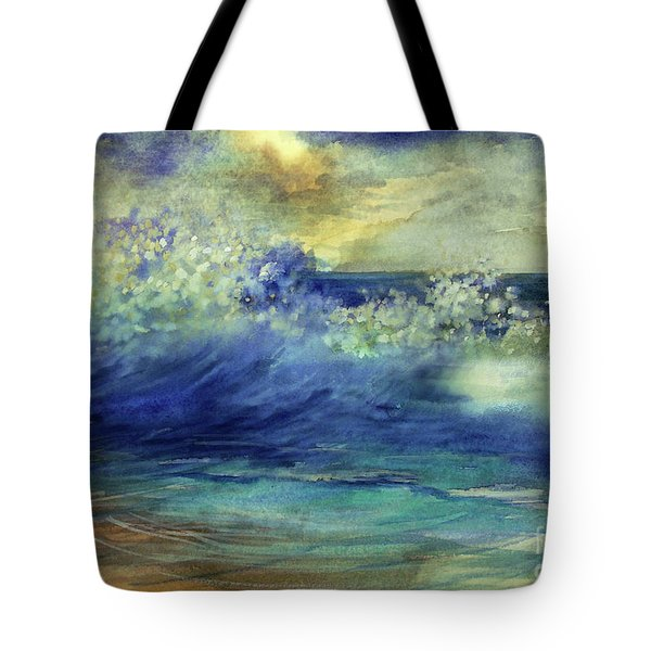 Ocean Tote Bag by Allison Ashton