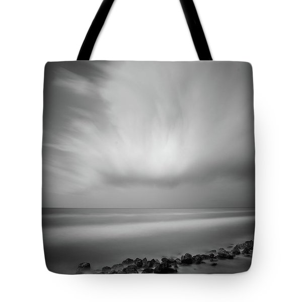 Ocean And Clouds Tote Bag