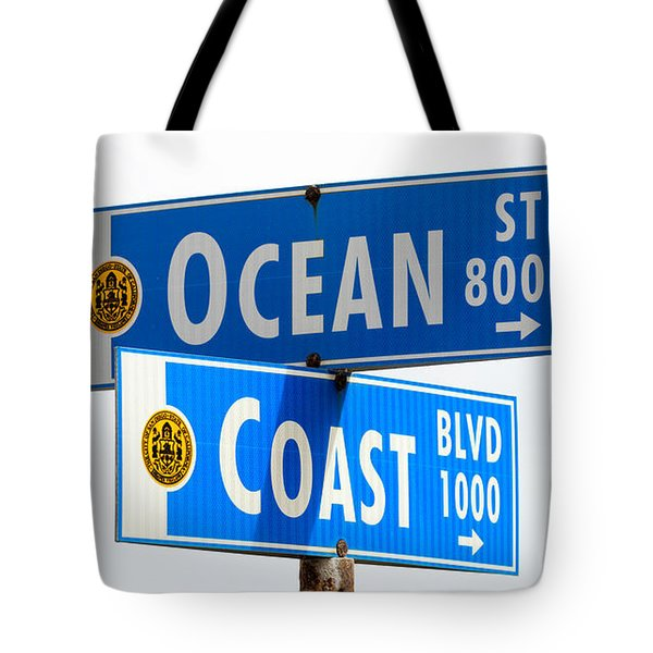 Ocean And Coast Tote Bag