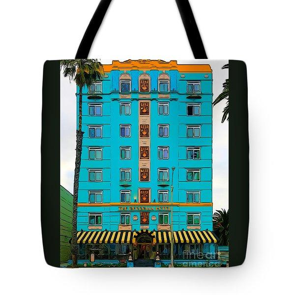 Ocean Avenue Tote Bag