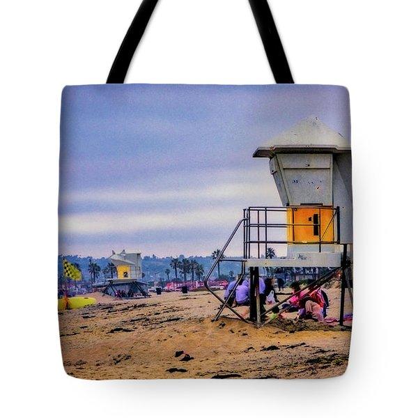 Ocean Beach Tote Bag