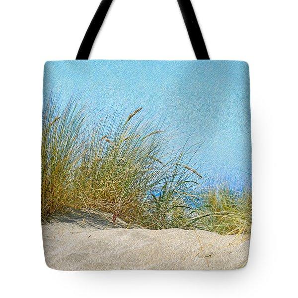 Ocean Beach Dunes Tote Bag