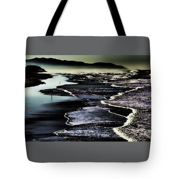 Tote Bag featuring the photograph Ocean Beach Night by Steve Siri