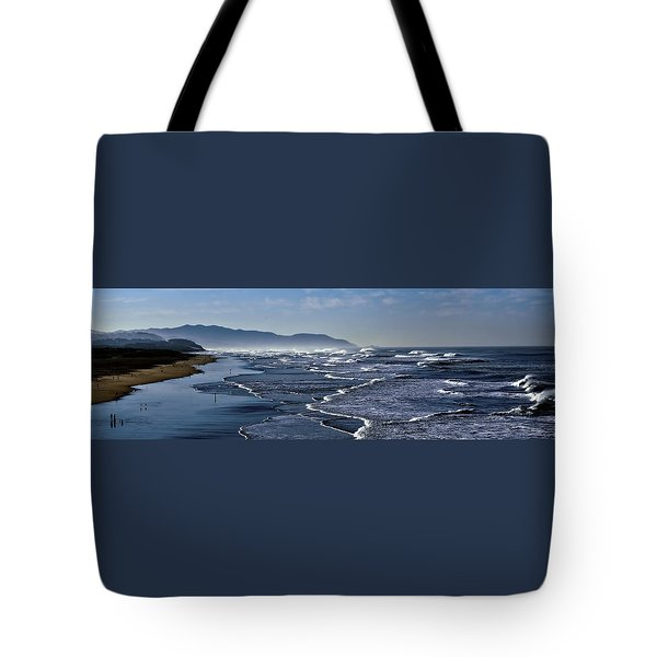 Ocean Beach San Francisco Tote Bag by Steve Siri