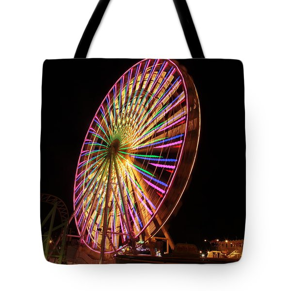 Ocean City Ferris Wheel1 Tote Bag