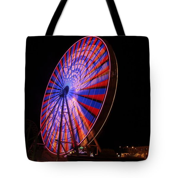 Ocean City Ferris Wheel4 Tote Bag