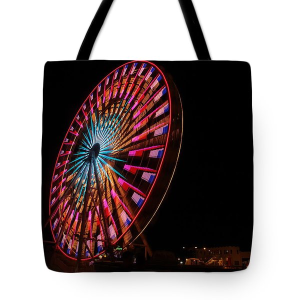 Ocean City Ferris Wheel6 Tote Bag