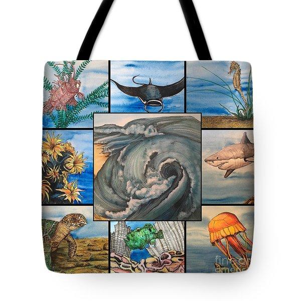 Ocean Collage #1 Tote Bag